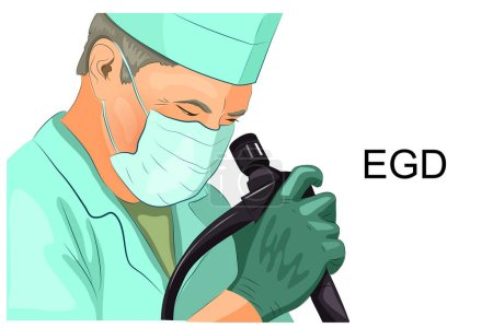 EGD, diagnosis of gastric ulcer