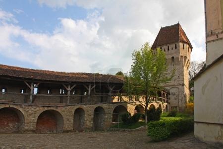 Photo pour Tour de l'étain Coaters (citadelle) à Sighisoara, Roumanie - image libre de droit