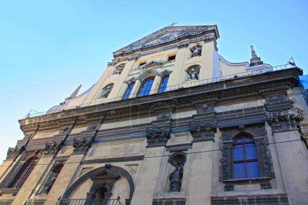 Jesuit church of St. Peter and Paul in Lviv, Ukraine