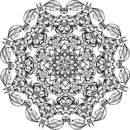 Mandala,round pattern