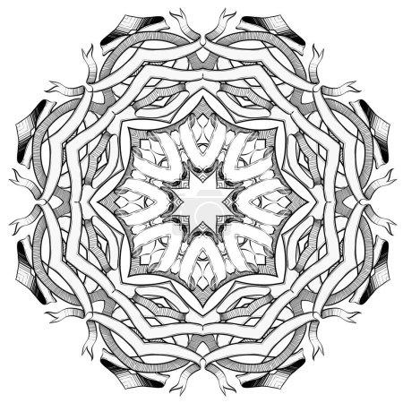 Handmade Mandala illustration