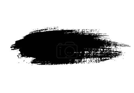 Illustration pour Coup de pinceau grunge, illustration vectorielle - image libre de droit