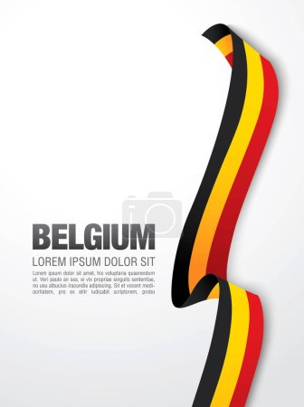 Belgium national day banner