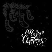 Veselé Vánoce nápis