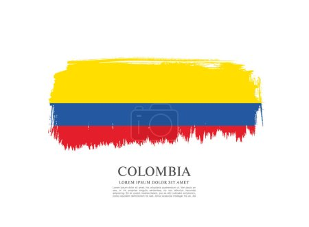 Flag of Colombia background