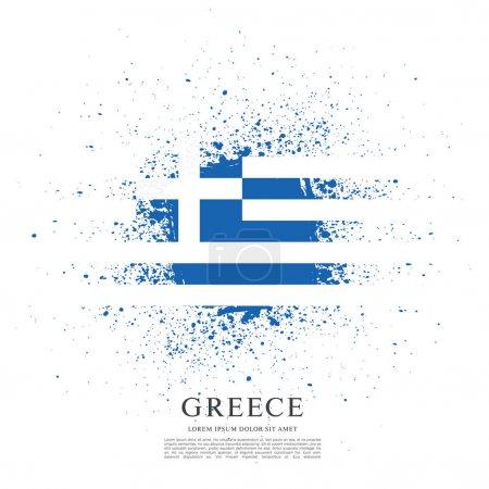 Bandera de Grecia antecedentes