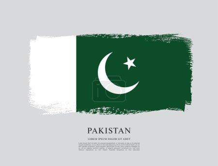 Flag of pakistan banner