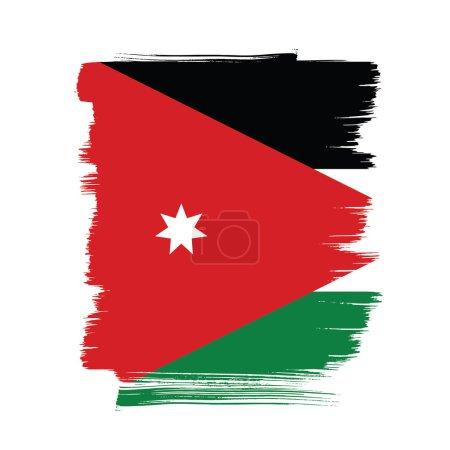 Jordan flag layout