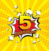 5th anniversary emblem