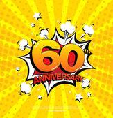 60th anniversary emblem