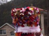 Hat of Santa Cristina de Cobres carnival in Pontevedra (Spain)
