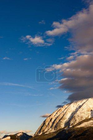 Montagnes en Styrie Bad Mitterndorf Alpes coucher de soleil