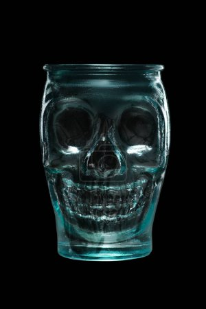 Goblet skull for Halloween cocktail
