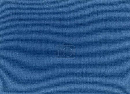 Navy blue cotton cloth texture.