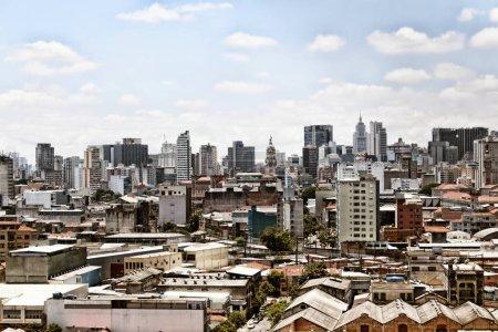 Skyline of Sao Paulo city - Brasil