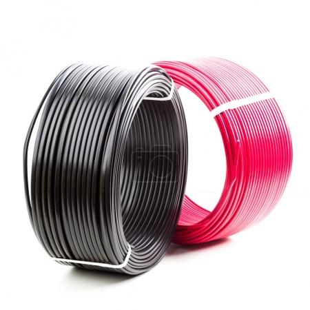 colored electric cables