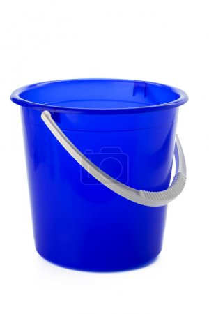 Empty bucket  close up