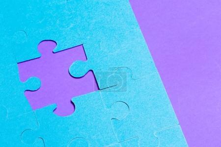 Puzzle fond, concept de connexion
