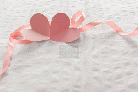 Love romantic letter close up