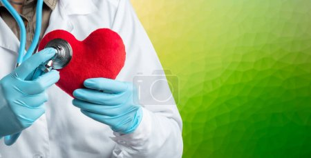 Photo for Protect healthcare concept with doctor - Royalty Free Image