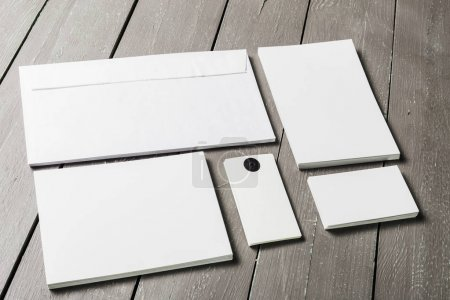 Business blank cards mockup