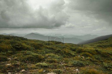 Photo pour Paysage de montagne incroyable vue panoramique - image libre de droit