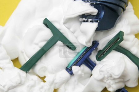 plastic shaving disposable  razors