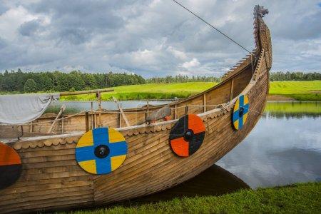Viking transport ship