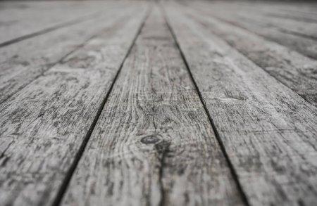 Foto de Naturaleza buena Perspectiva cálida textura suelo de madera. Fondo de piso de madera blanco o gris con perspectiva - Imagen libre de derechos