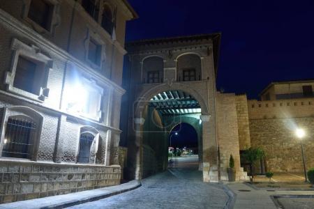 Puerta Alta in medieval town of Daroca, Zaragoza province, Aragon,Spain