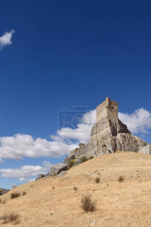 Homenaje tower of  Castle Atienza, medieval fortress