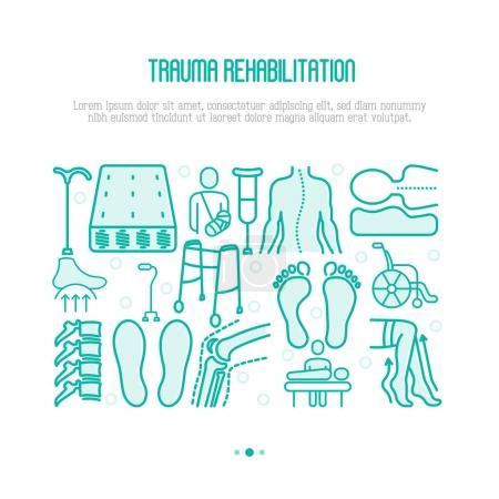 Orthopedic and trauma rehabilitation concept