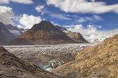 The Aletsch Glacier in Switzerland