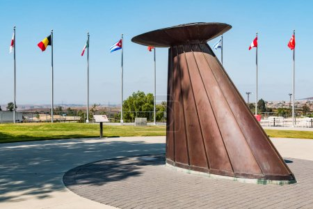 Olympic Flame Cauldron and Courtyard at Olympic Training Center