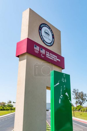Entrance Sign for Chula Vista Training Center for Olympic Athletes
