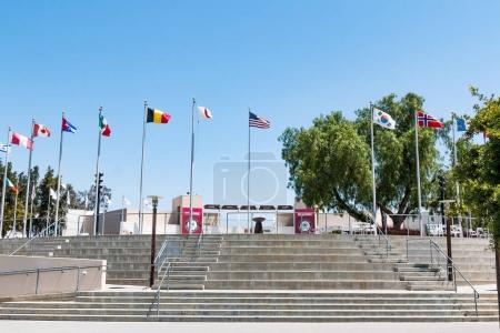 Steps Leading to Courtyard of Olympic Training Center