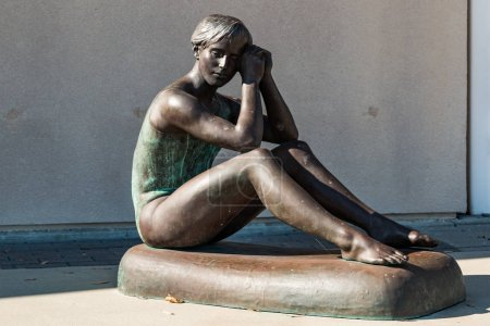 Body Cast Statue of Olympic Gymnast Theresa Kulikowski