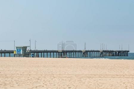 Venice Beach Fishing Pier in Los Angeles County