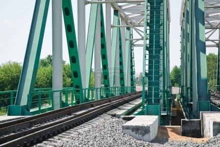 Railway bridge at Moscow Central Circle