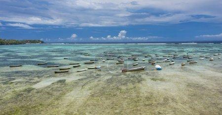 Seaweed farming at Nusa Lembongan