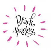 Modern calligraphy Black Friday hand-lettering quote