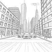 London New York building Empire State Chrysler Building city landscape