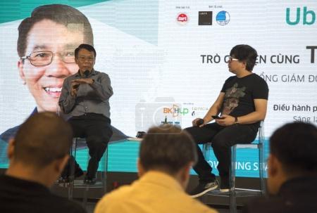 Thuan Pham at talk show