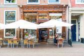 Lunchroom in Leiden, Netherlands