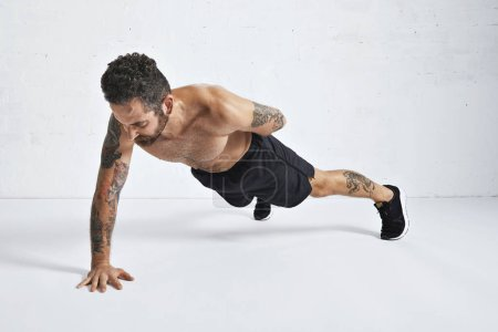 Calisthenics pushups training technique