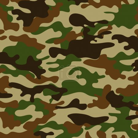 Illustration for Picture with a military color of the ground color khaki - Royalty Free Image