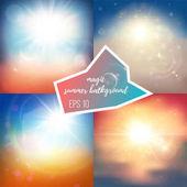 Light summer backgrounds