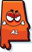 Cartoon Angry Alabama