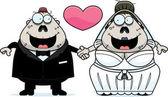 Cartoon Zombie Wedding