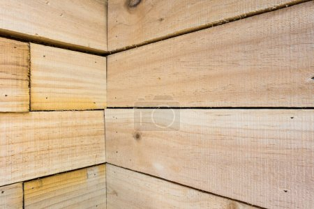 Wooden texture, Strip wooden wall, Abstract background